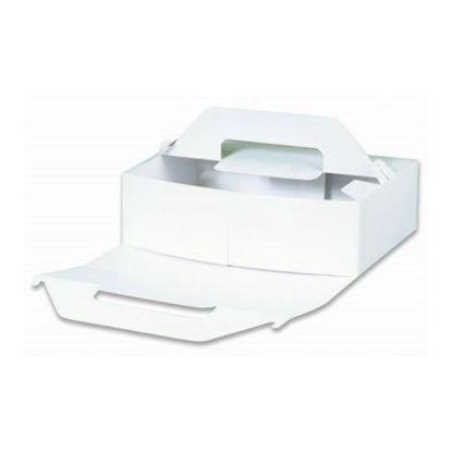Obrázek Dortová krabice odnosná  -  23 x 23 x 11 cm