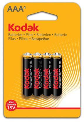 Obrázek Baterie Kodak - baterie mikrotužková AAA / 4ks