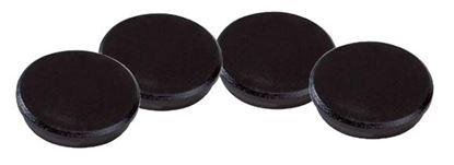 Obrázek Magnety černé Dahle -  průměr 24 mm / 10 ks