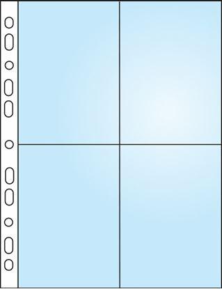 Obrázek Závěsný obal Bantex - A4 silný / kapsy na foto 9 x 13 / 10 ks