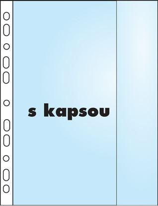Obrázek Závěsný obal Copy s kapsou - A4 matný /110 my / 10 ks