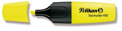 Obrázek Pelikán 490 zvýrazňovač žlutá