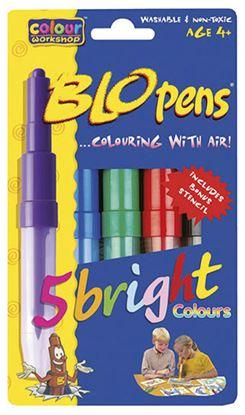 Obrázek Foukací fixy AirPens 1500/5 - Vivid Colours / sada 5 ks