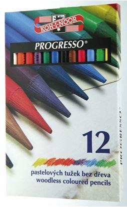 Obrázek Pastelky Progresso - 12 barev