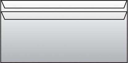 Obrázek Obálky DL samolepicí - bez okénka / 50 ks