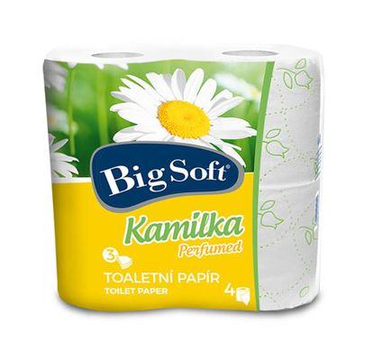 Obrázek Toaletní papír Big Soft Kamilka - bílá