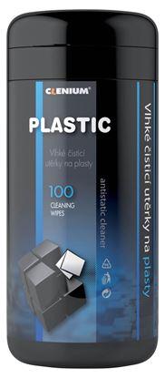 Obrázek Čistící kapesníky Clenium - 100 ks / na plasty