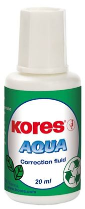 Obrázek Opravné laky Kores Aqua  -  20 ml – štěteček