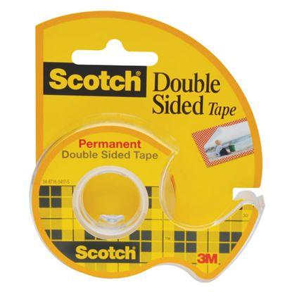 Obrázek Lepicí páska oboustranná Scotch s odvíječem - 12 mm x 6,3 m