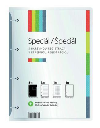 Obrázek Studentský speciál - A4 / blok 5 x 20 linkovaných listů