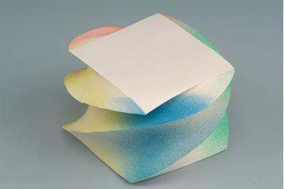 Obrázek Záznamní kostky stříkané - 9 cm x 9 cm x 7 cm / lepená točená vazba