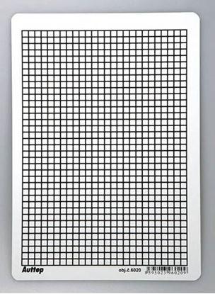 Obrázek Podložka do sešitů A4 Auttep PVC / linka - čtvereček