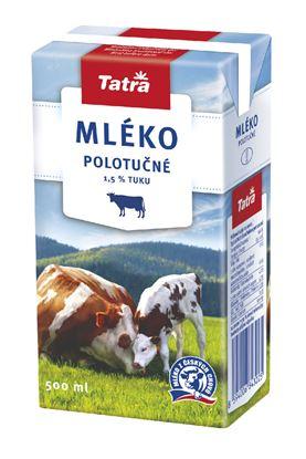 Obrázek Mléko - polotučné / 0,5 l