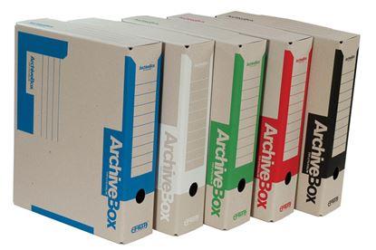 Obrázek Archivní box Emba A4 hřbet 7,5 cm / zelená