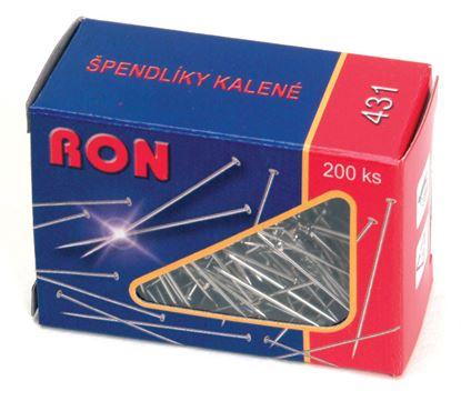 Obrázek Špendlíky RON - 200 ks