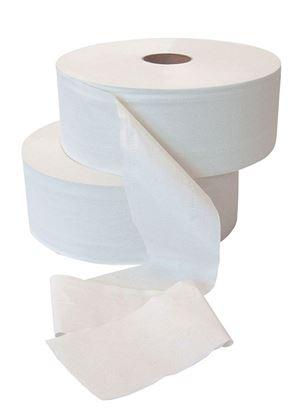 Obrázek Toaletní papír Jumbo PrimaSOFT  šedý - průměr 280 mm