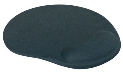Obrázek Podložka pod myš gelová LOGO - černá
