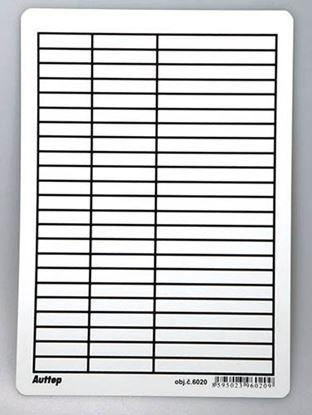 Obrázek Podložka do sešitů A5 Auttep PVC - linka / čtvereček