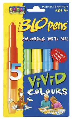 Obrázek Foukací fixy AirPens 1500/5 Centropen - Bright Colours / sada 5 ks