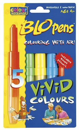 Obrázek Foukací fixy 1500/5 Centropen - Bright Colours / sada 5 ks