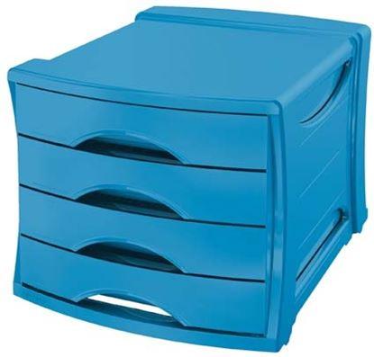 Obrázek Zásuvkový box Esselte Vivida - modrá