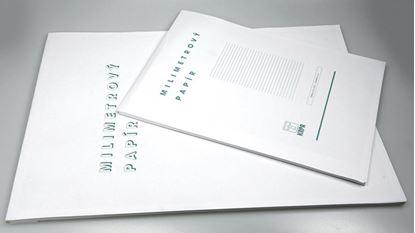Obrázek Milimetrový papír - blok A3 / 50 listů