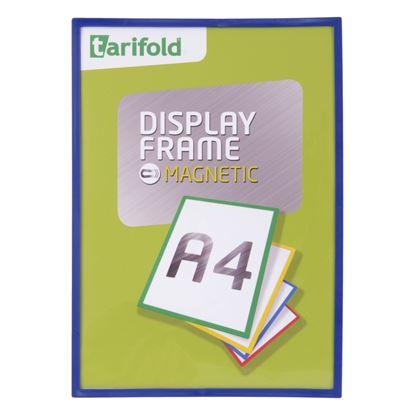 Obrázek Kapsy magnetické Tarifold Display Frame - A4 / modrá