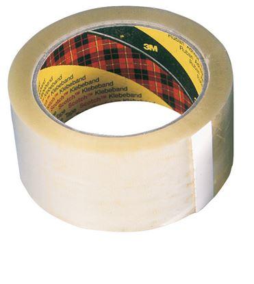 Obrázek Balicí pásky Scotch - 25 mm x 66 m / transparentní