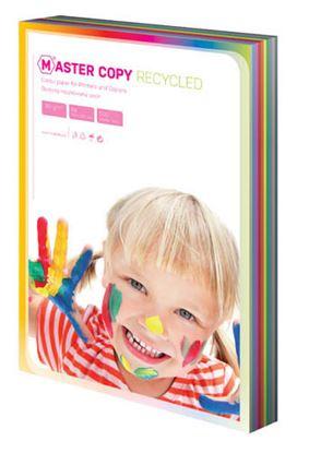 Obrázek Barevné papíry A4 80 g - EKO Master / 500 listů / barevný mix