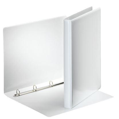Obrázek Pořadač A4 kroužkový prezentační -  hřbet 3 cm -4 -  kroužek / bílá