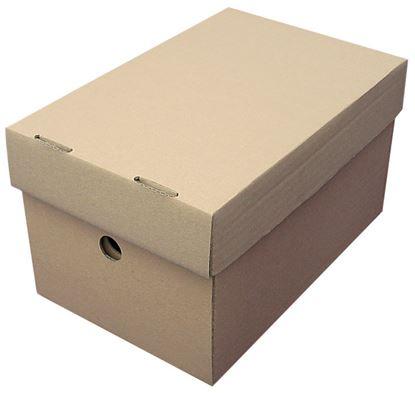 Obrázek Papírové krabice  -  A4 / 25 cm x 32,5 cm x 15 cm / 2 ks