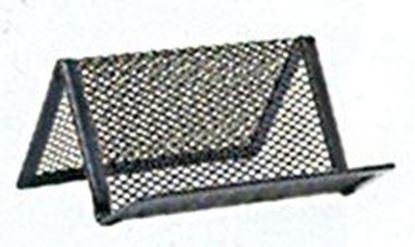 Obrázek Kancelářské doplňky drátěné - stojánek na vizitky
