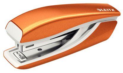 Obrázek Kancelářský sešívač mini 5528 - metalická oranžová