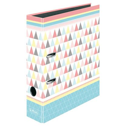 Obrázek Pořadač A4 pákový Graphic Pastels -  hřbet 8 cm / Poly
