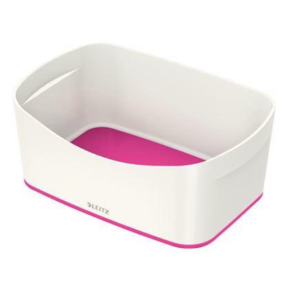 Obrázek Organizační box MyBox - bílo - růžová