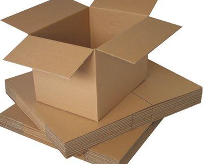 Obrázek Krabice klopová - 3 vrstvá / A4 / 305 x 215 x 230 mm