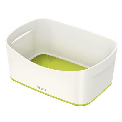 Obrázek Organizační box MyBox - bílo - zelená