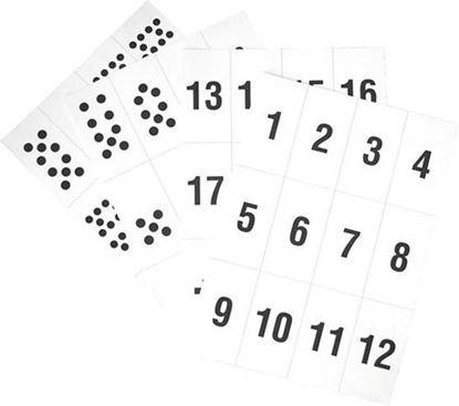 Obrázek Písmena a číslice - sada číslic