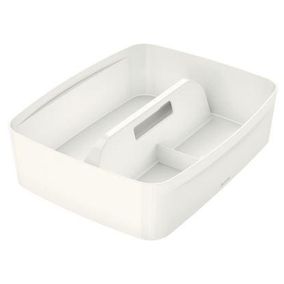 Obrázek Organizační box Leitz MyBox - s držadlem L / bílá