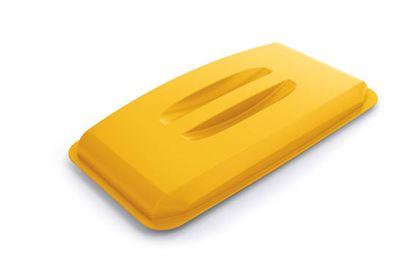 Obrázek Odpadkové koše Durabin 60 l - víko / žlutá