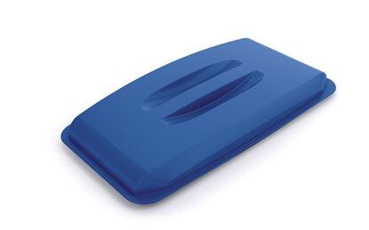 Obrázek Odpadkové koše Durabin 60 l - víko / modrá
