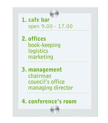 Obrázek Informační tabule Euro Flex - 340 x 250 mm
