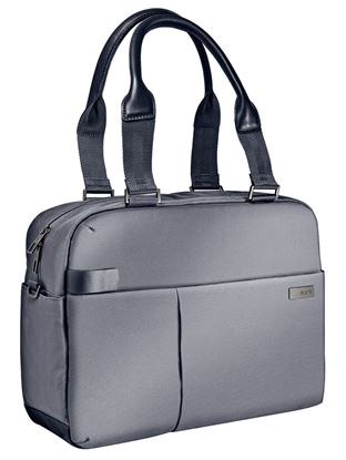 """Obrázek Dámská taška na notebook Leitz Complete - stříbrná / 13,3"""""""