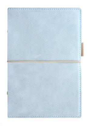 Obrázek Diář Filofax Domino Soft - osobní / 95 x 171 mm / pastelová modrá