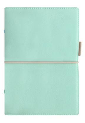 Obrázek Diář Filofax Domino Soft - osobní / 95 x 171 mm / pastelová zelená