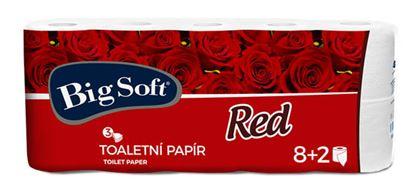 Obrázek Big Soft Red toaletní papír 3-vrstvý 10ks