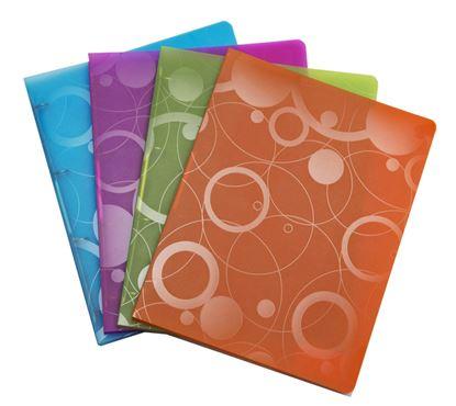 Obrázek Kroužkové záznamníky Neo Colori A4 -  A4 / modrá