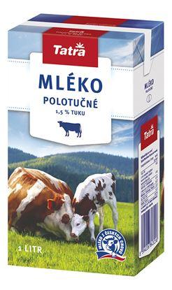 Obrázek Mléko - polotučné / 1 l