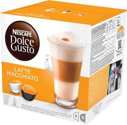 Obrázek Nescafé Dolce Gusto kapsle -  Latté Macchiato / 8+8 ks