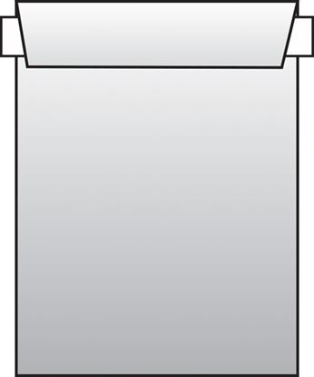 Obrázek Obchodní tašky C4 samolepicí s krycí páskou - 250 ks